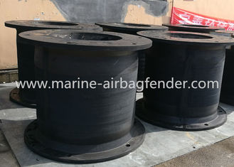 Cell Marine Rubber Fender D Shaped Rubber Bumper For Container Vessel Terminals