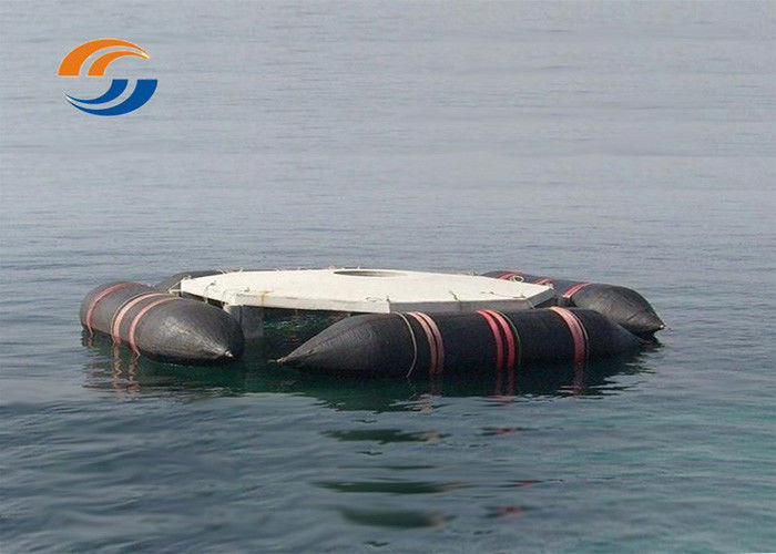 Inflatable Marine Salvage Lift Bags Marine Salvage Tube Cylindrical Roller Body