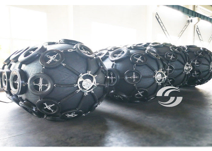 Ship Docking Pneuamtic Rubber Fenders 1.5m*3.0m 50Kpa Custmoized Size