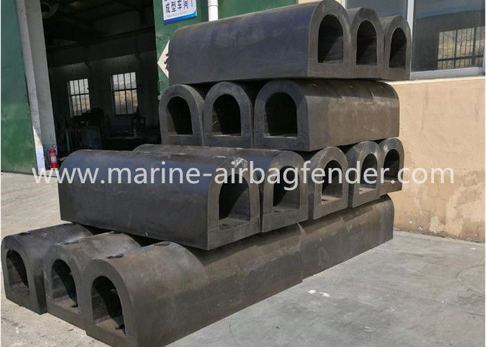 Compact Size D Type Marine Rubber Fender for Docks and Ports