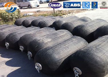Safety Rubber Boat Dock Bumpers High Transportation Efficiency Customized Size