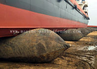 Launching Underwater Salvage Air Lift Bags Natural Rubber High Strength